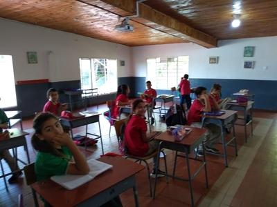 Manejamos un número reducido de estudiantes por aula
